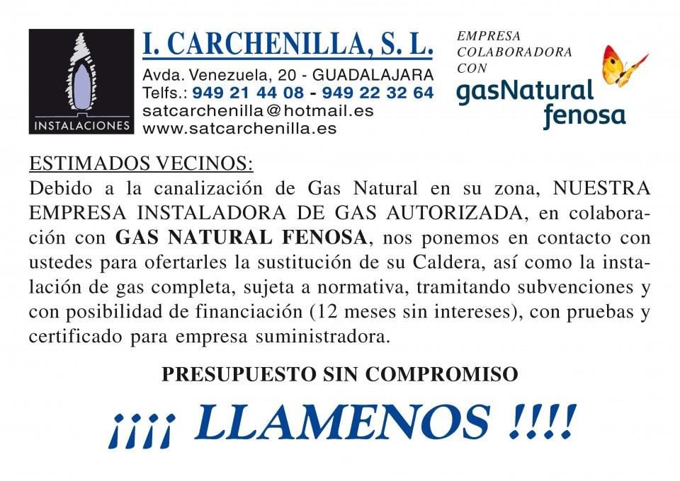 Presupuesto instalacion gas natural amazing affordable for Cuanto cuesta instalar calefaccion gas natural